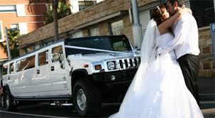 wedd hummr limo
